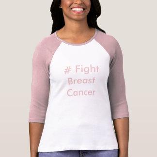 # T-shirt de cancer du sein de combat