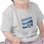 T-shirt de coupe du monde d'Argenitna