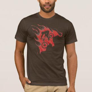 T-shirt de cycliste de montagne