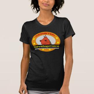 T-shirt de développement du monstre des femmes