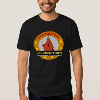 T-shirt de développement du monstre des hommes