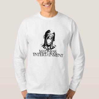 T-shirt de douille de divertissement de folie long
