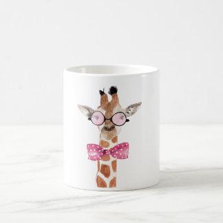 T-shirt de Girafe de hippie Mug