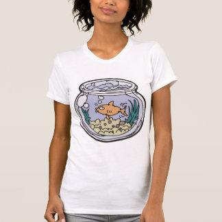 T-shirt de maternité de cuvette de poissons