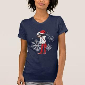 T-shirt de Noël d'enfant d'Emo
