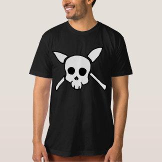 T-shirt de noir de crâne d'Outlander