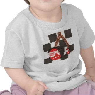 T-shirt de nourrisson de cerises d'Emo