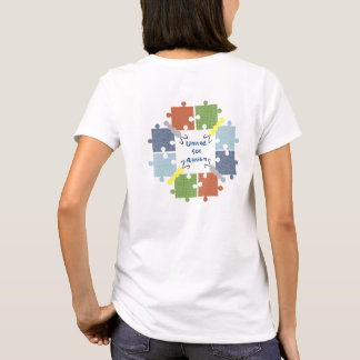 T-shirt de papillons d'autisme
