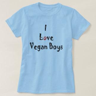 T-shirt de végétaliens d'amour