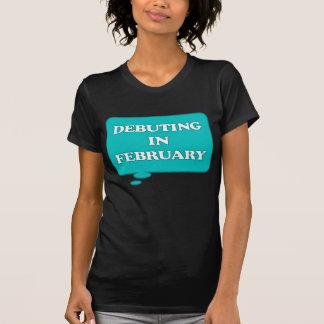 T-shirt DEBUTING en février ENTRETIEN DE MATERNITÉ