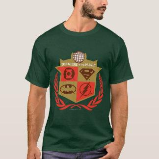 T-shirt Défenseurs de ligue de justice de la planète