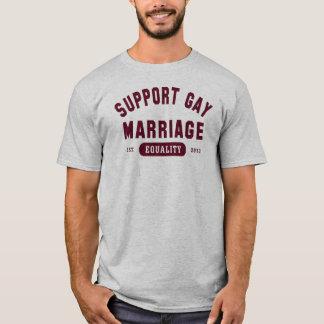T-shirt d'égalité de mariage homosexuel de soutien