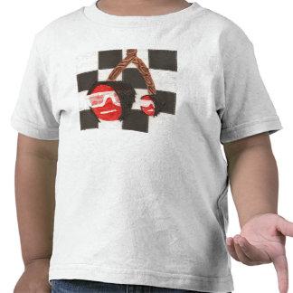 T-shirt d'enfant en bas âge de cerises d'Emo