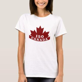 T - Shirt der Damen-Kanada 150