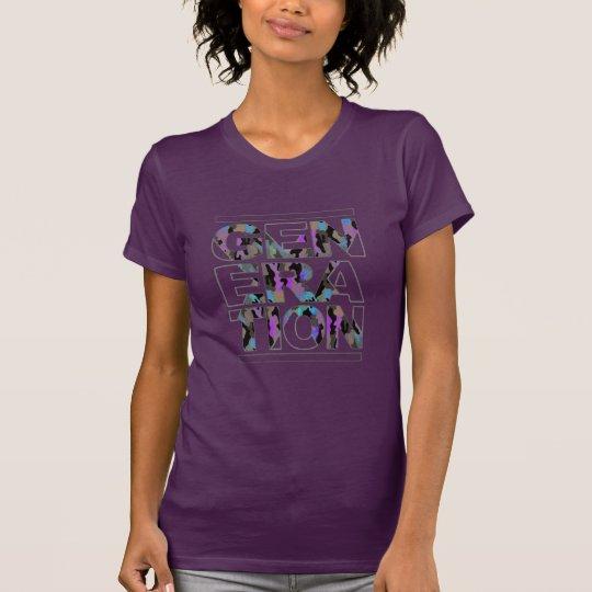 T - Shirt der Generations-X