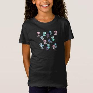 T - Shirt der Jersey der Mädchen mit Quallen