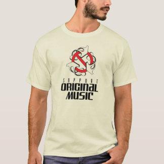 T - Shirt der Stützursprünglichen Musik