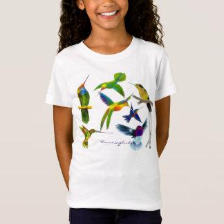 T - Shirt der Vogel-Liebhaber des Kolibri-Kindes