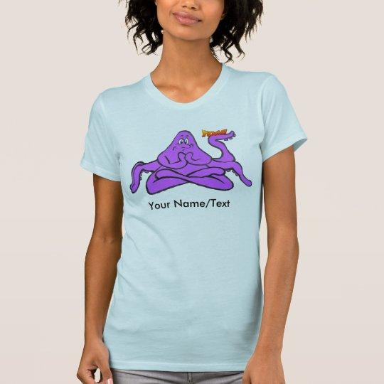T - Shirt der Yoga-Kraken-Frauen Kleider