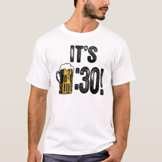 T - Shirt des Bier-dreißig