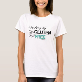 T - Shirt des Damen-Schaufel-Hals-GF