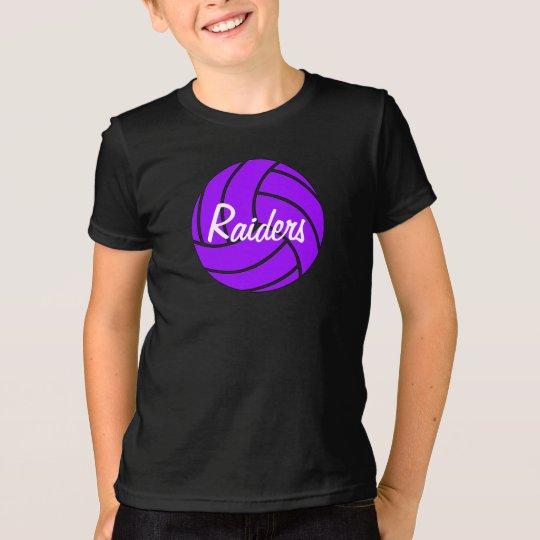 T - Shirt des kundenspezifisches der lila