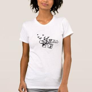 T-shirt Dessus de Tang d'autisme