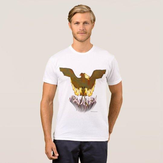 T - Shirt die Poly-Baumwolle goldener Männer