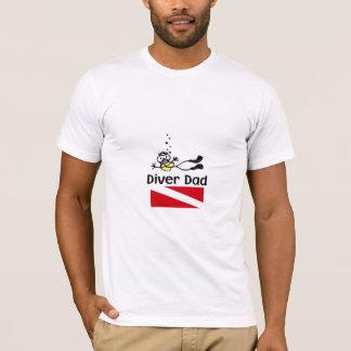 T-shirt Diver Dad