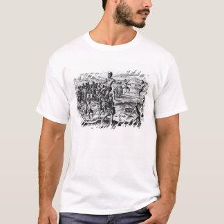T-shirt Divers jeux indiens, de 'Americae