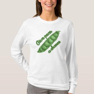 T-shirt Donnez à des pois une occasion