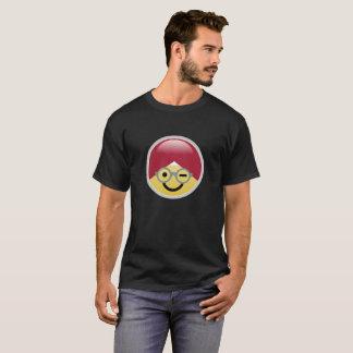 T - Shirt Dr.-Social Media Wink Turban Emoji