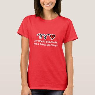 T-shirt drôle de psychologue pour des femmes