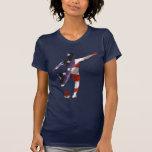 T-shirt du football des femmes des Etats-Unis