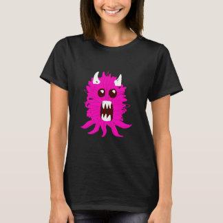 T-shirt du monstre des femmes roses