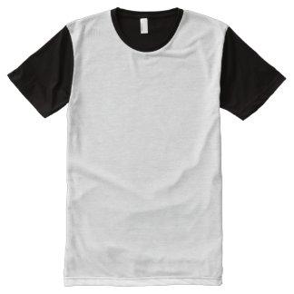 T-shirt du panneau des hommes