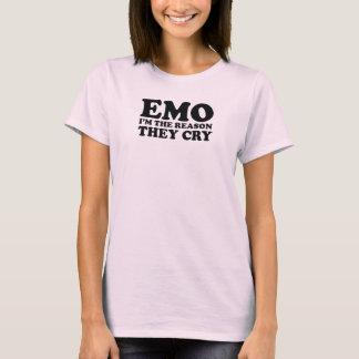 T-shirt EMO je suis LA RAISON qu'ILS PLEURENT