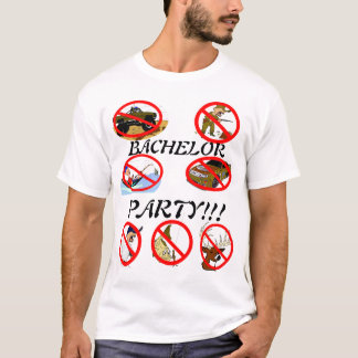 T-shirt Enterrement de vie de jeune garçon ! ! !