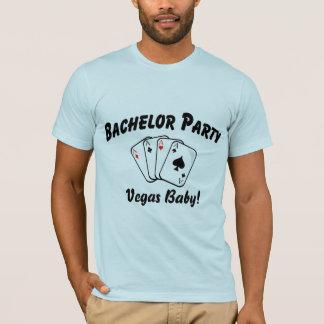 T-shirt Enterrement de vie de jeune garçon de Las Vegas