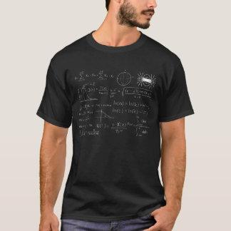T-shirt Équations de formule de physique