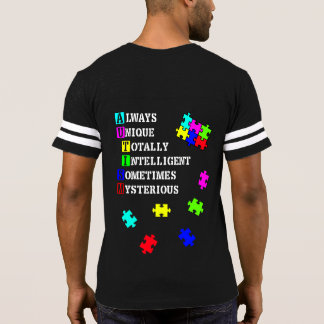 T-shirt Équipe Aspie (autisme)