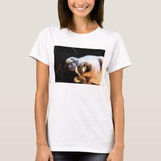 T-shirt espiègle de chat