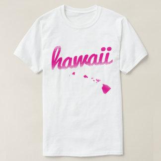 T-shirt État d'Hawaï dans le rose