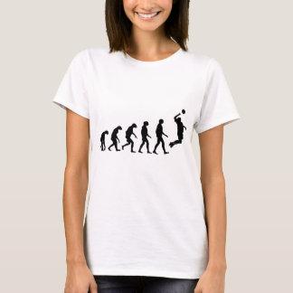 T-shirt Évolution de volleyball