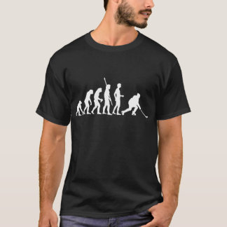 T-shirt évolution ice hockey