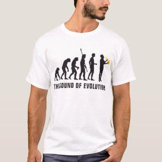 T-shirt évolution jazz