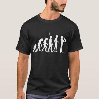T-shirt Évolution saxophon
