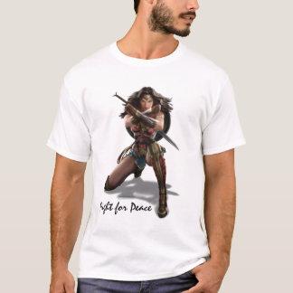 T-shirt Femme de merveille bloquant avec des bracelets
