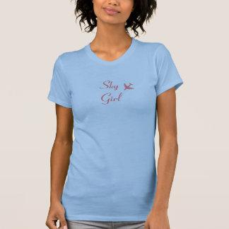 T-shirt Fille de ciel