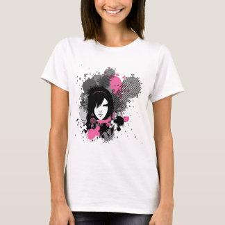 T-shirt Fille d'Emo d'encre